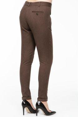 Брюки Dolce & Gabbana                                                                                                              коричневый цвет