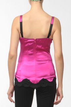 Топ Dolce & Gabbana                                                                                                              розовый цвет