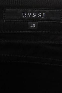 Джинсы Gucci                                                                                                              чёрный цвет