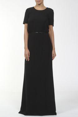 Платье С Поясом Maison Margiela                                                                                                              черный цвет