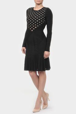 Платье Hervé Léger                                                                                                              чёрный цвет