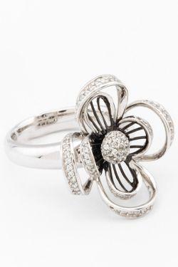 Кольцо VANGOLD                                                                                                              белый цвет