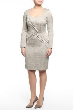 Платье Oscar de la Renta                                                                                                              серый цвет