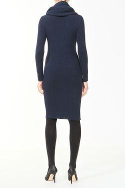 Платье Шарф Pietro Brunelli                                                                                                              синий цвет
