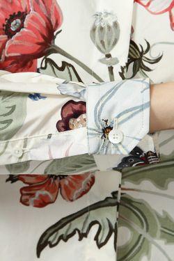Рубашка Gucci                                                                                                              бежевый цвет