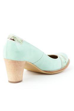 Туфли Zinda                                                                                                              зелёный цвет