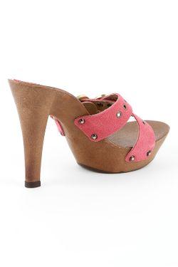 Сабо Gioie Italiane                                                                                                              розовый цвет