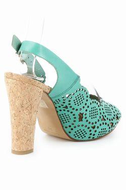 Туфли Liska                                                                                                              зелёный цвет
