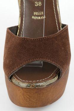 Туфли Prativerdi                                                                                                              коричневый цвет