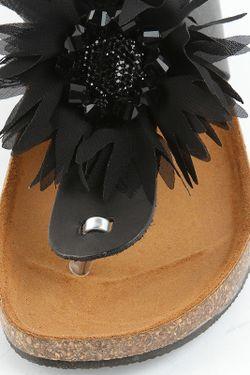 Шлепанцы Sk                                                                                                              черный цвет