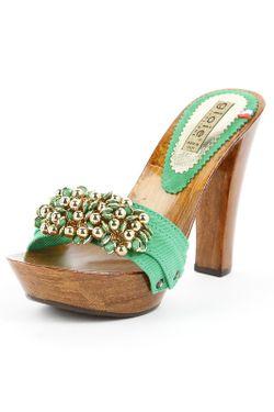 Сабо Gioie Italiane                                                                                                              зелёный цвет