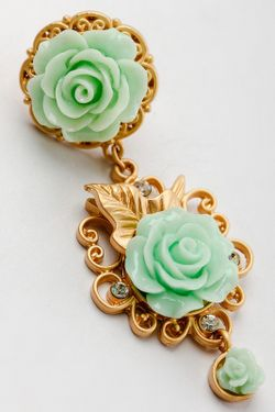 Серьги Patricia Bruni                                                                                                              зелёный цвет