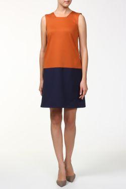 Платье BERTEN                                                                                                              оранжевый цвет