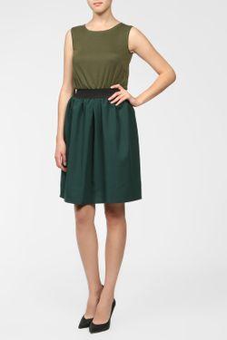 Платье BERTEN                                                                                                              зелёный цвет