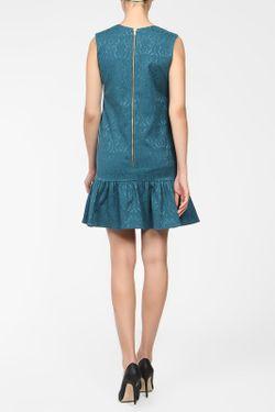 Платье BERTEN                                                                                                              голубой цвет