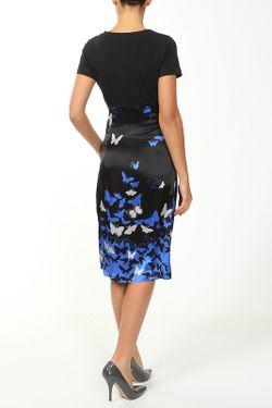 Шелковое Платье Cool Air                                                                                                              синий цвет