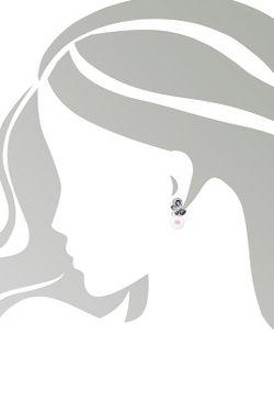 Серьги Art Silver                                                                                                              Серебряный цвет