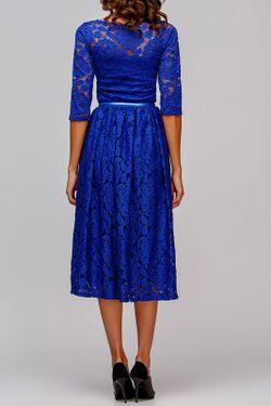 Платье Adelin Fostayn                                                                                                              синий цвет
