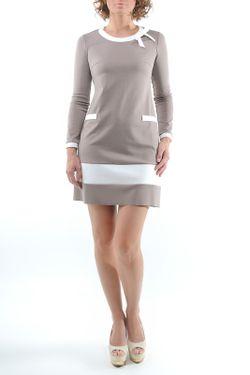 Платье Monocollection                                                                                                              бежевый цвет