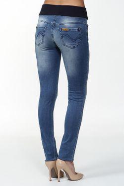 Джинсы Pietro Brunelli                                                                                                              голубой цвет