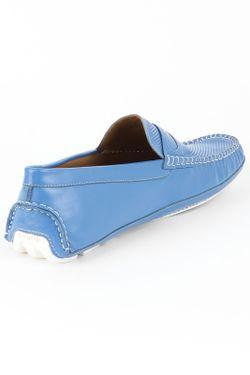 Мокасины Mascotte                                                                                                              синий цвет