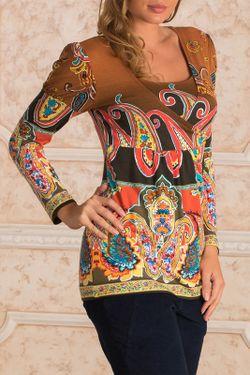 Блуза Nuova Vita                                                                                                              коричневый цвет