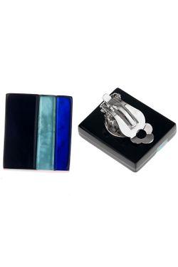 Кольцо Culture Mix                                                                                                              голубой цвет