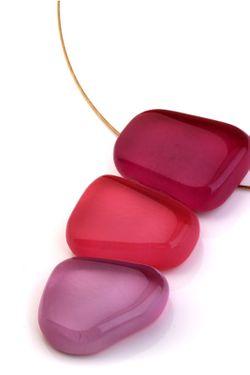 Колье Nathalie Borderie                                                                                                              розовый цвет