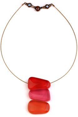 Колье Nathalie Borderie                                                                                                              красный цвет
