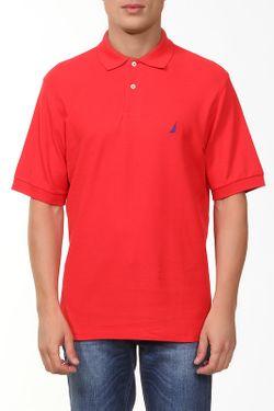 Поло Nautica                                                                                                              красный цвет