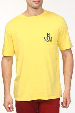 Футболка Nautica                                                                                                              желтый цвет