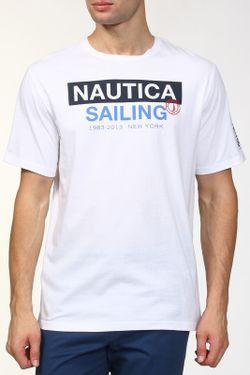 Футболка Nautica                                                                                                              белый цвет