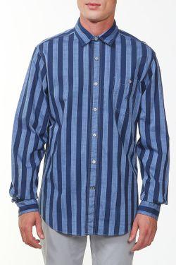 Рубашка Nautica                                                                                                              синий цвет