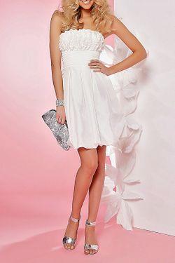 Платье Apart                                                                                                              белый цвет