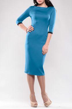 Платье Maurini                                                                                                              голубой цвет