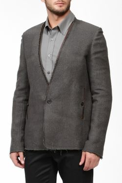 Пиджак Damir Doma                                                                                                              серый цвет