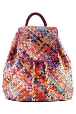 Рюкзак Anna Wolf                                                                                                              многоцветный цвет