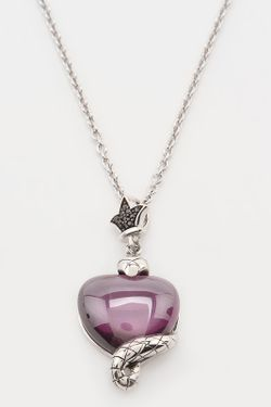Колье Charle                                                                                                              фиолетовый цвет