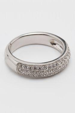 Кольцо Charle                                                                                                              Серебряный цвет