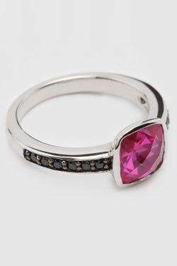 Кольцо Charle                                                                                                              розовый цвет