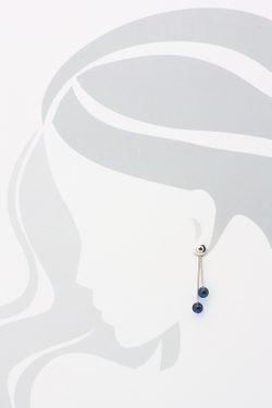 Серьги Дом Янтаря                                                                                                              синий цвет