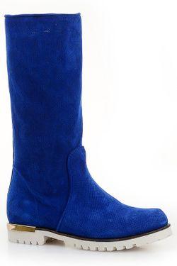 Сапоги Giorgio Piergentili                                                                                                              синий цвет
