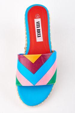 Сабо Vita Ricca                                                                                                              многоцветный цвет