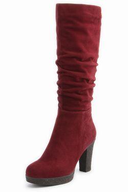 Сапоги El Tempo                                                                                                              красный цвет