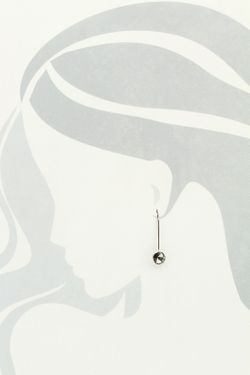 Серьги NAVELL                                                                                                              серый цвет