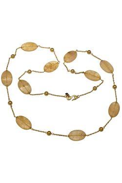 Ожерелье Кварц В Золоте Kenneth Jay Lane                                                                                                              многоцветный цвет