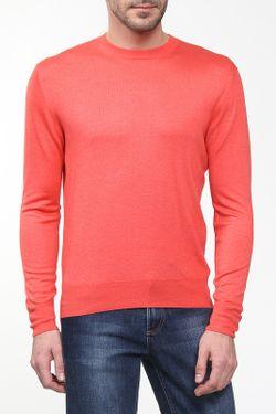 Пуловер Вязаный Cruciani                                                                                                              красный цвет