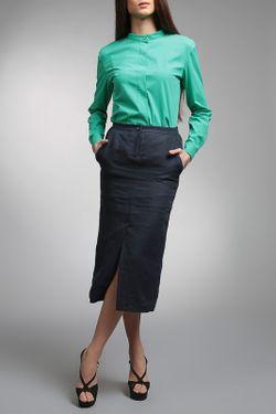 Блузка ЭНСО                                                                                                              зелёный цвет