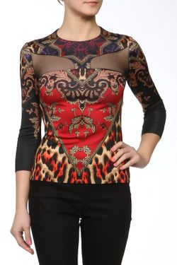 Блуза Just Cavalli                                                                                                              многоцветный цвет