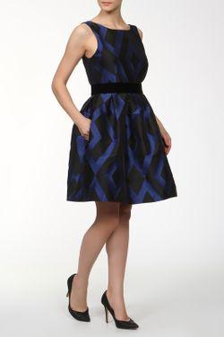 Платье P.A.R.O.S.H.                                                                                                              синий цвет